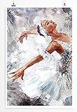 Eau Zone Home Bild - Bild – Ballerina- Poster Fotodruck in höchster Qualität