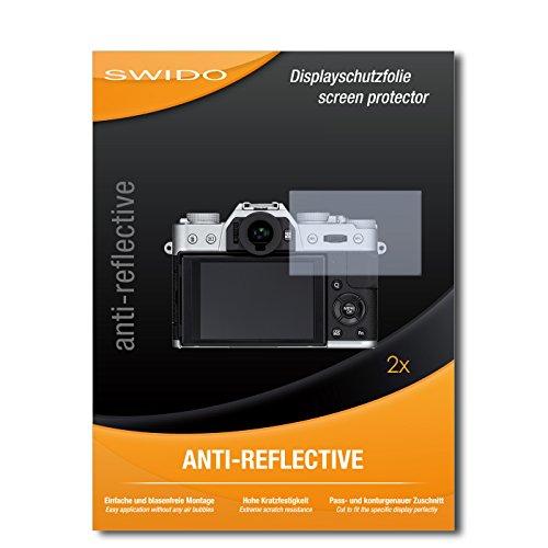 2 x SWIDO Anti-Reflective Pellicola protettiva anti-riflesso e con rivestimento resistente per Fujifilm X-T10 / XT-10 / XT10 - QUALITA' PREMIUM - Made in Germany