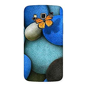 Pebbls and Butterfly Back Case Cover for Samsung Galaxy Grand 2