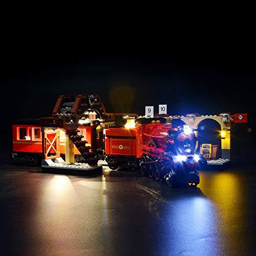 BRIKSMAX Kit de LED pour Harry Potter-Poudlard Express, Compatible avec la Maquette Lego 75955, La...