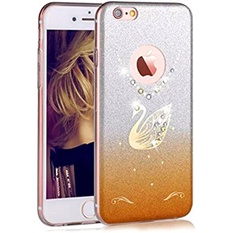Sunroyal ® Funda para Apple iPhone 6 Plus y 6S Plus (5.5 pulgadas) a Prueba de Golpes, Case Cover Extremamente Delgada Carcasa Protectora de Parachoques Trasero para Apple 6S Plus 5.5