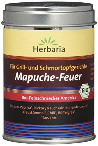 """Herbaria""""Mapuche-Feuer"""" Grillgewürz M-Dose BIO, 95 g"""