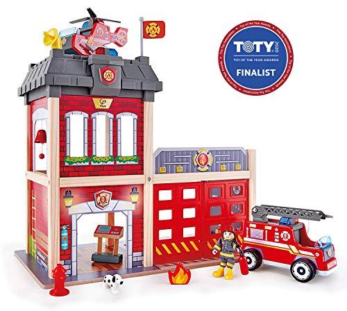 Hape- Grande Caserne de Pompiers, E3023, Multicolor