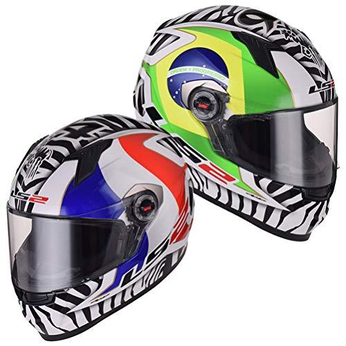 Preisvergleich Produktbild Männer Frauen Universal Full Face Motocross Helme Carbon Anti Fog Suanproof Racing Off Road Helme Professionelle Sicherheit Flip Up Motorradhelme