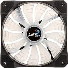 Aerocool P7F12PRO - Pack de 3 ventiladores P7F12 y Hub P7H1 (12 cm, aspas desmontables, 16.8 mill colores LED // 2 salidas LED 24 V, 5 conectores hasta 18 V, control luz LED, 9-Pin USB 2.0)