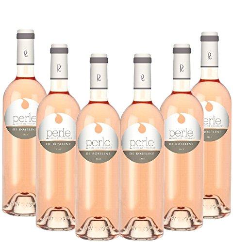 Lot de 6 Perle de Roseline rosé Côtes de Provenc
