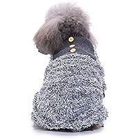 Ropa para Mascotas Perro de Peluche Franela Pijamas Ropa de Abrigo Cachorro Perrito Ropa Invierno Gusspower