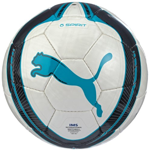 PUMA Ball Spirit (IMS Approved), White/Fluo Blue/Black, 5, 082031 16 Image