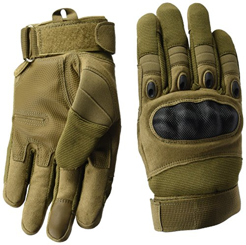Taktische Handschuhe, Coofit Motorrad Handschuhe Herren Army
