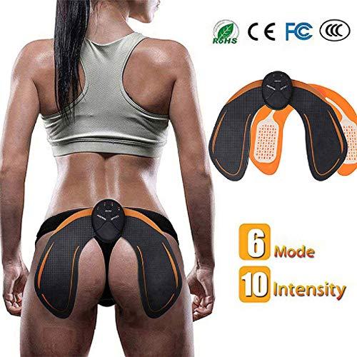 SHENGMI EMS Hips Trainer Entrenador de Cadera Hip EMS 6 Modos Caderas Abs Tóner Muscular Nalgas Inteligentes Levantamiento Fácil Butt Levante Accesorios de Bricolaje Traje para la Aptitud del Cuerpo