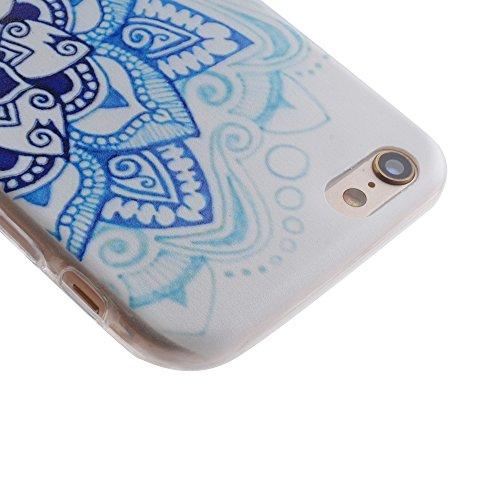 Etui iPhone 6S, Anfire Flexible Souple Soft Case Couverture Housse Protection pour iPhone 6 Attrape Reve Motif Mode Etui Coque TPU Slim pour Apple iPhone 6 / 6S (4.7 pouces) Ultra Mince Anti rayures C Mandala