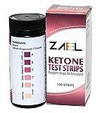 ZAEL Ketone Test Strips, 120 Strips + Fr...