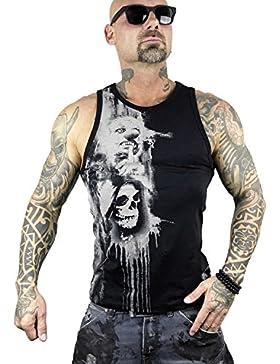 Yakuza Original Herren Waiting Death Tank Top T-Shirt