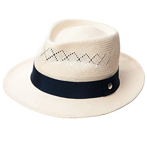 SIGGI Herren Panama Sonnenhut Fedora Tribly Hut