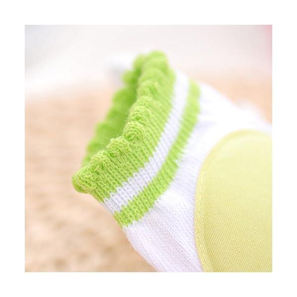 Hillento transpirables elásticos unisex infantiles rodilleras del bebé del niño de rodilla coderas arrastrándose… 4