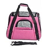 Dixinla Pet Carrier Rucksack Pets Out Pack Oxford Tuch Tragbar Pet Tasche Atmungsaktiv Doggy Folding Bag 46x 23x 35cm