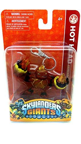 Skylander Figuren Schlüsselanhänger Spielzeug Schlüsselring Crusher Hot Head oder Tree Rex New Games, Spielzeug, Kinder, Jungen, Mädchen – Großartiger Strumpffüller, Hot Head