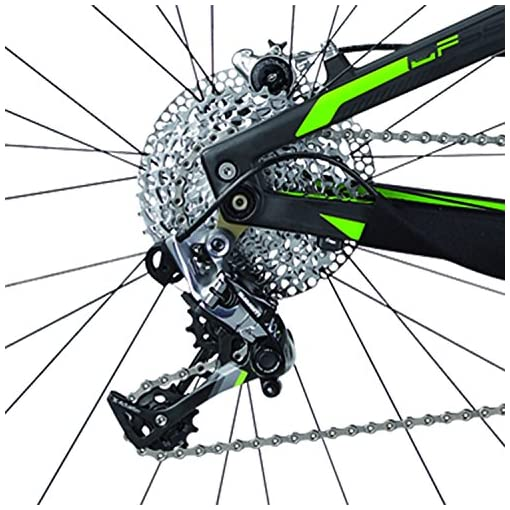 "Shockblaze BK14SB1696 Trace Team Carbon 29"" Mountain Bike, Nero"