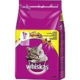 Whiskas 1+ Katzenfutter Huhn, 1er Pack (1 x 3,8 kg)
