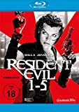 Resident Evil - 1-5 Movie Collection (5 Blu-ray)