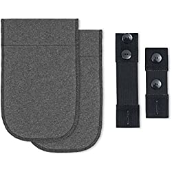 Scamp Pantalón Ampliación de embarazo 4piezas–2colores nuevo gris gris