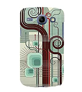 Samsung Galaxy Core I8260 :: Samsung Galaxy Core Duos I8262 abstract retro line background colorful retro design Designer Printed High Quality Smooth hard plastic Protective Mobile Case Back Pouch Cover by Paresha