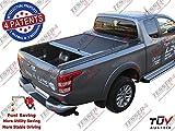 Tesser L200nuevo Double Cab '09/2015/fullback > aluminio laderaumabdeckung Roll Capota Roll Cover 4x 4