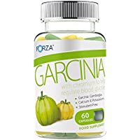 FORZA Garcinia Cambogia - Natural Fat Blocker For Weight Loss & Dieting - 60 Capsules