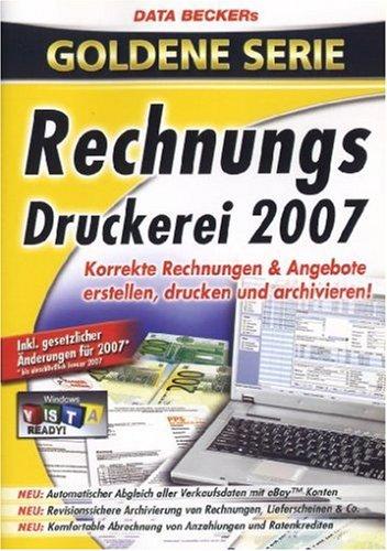 Rechnungsdruckerei 2007