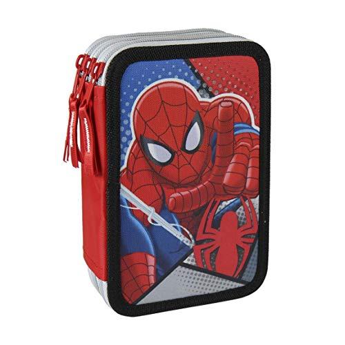 Spiderman Plumier Triple, ampUacutenica (Artesanía Cerdá 2700000200)