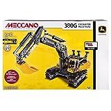 #9: Meccano-Erector - John Deere 380G Excavator with Working Hydraulics