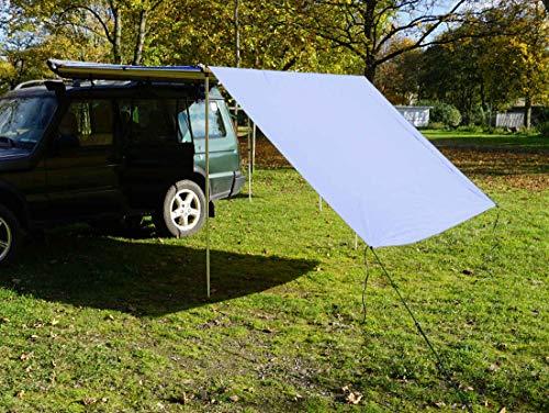 Prime Tech Tarp/Erweiterung zu Fahrzeugmarkise 250cm in grau
