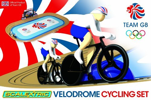 Scalextric Track (Scalextric G1072 Team GB Velodrome 2012: Track Cycling 1:64 Scale Race Set by Scalextric)