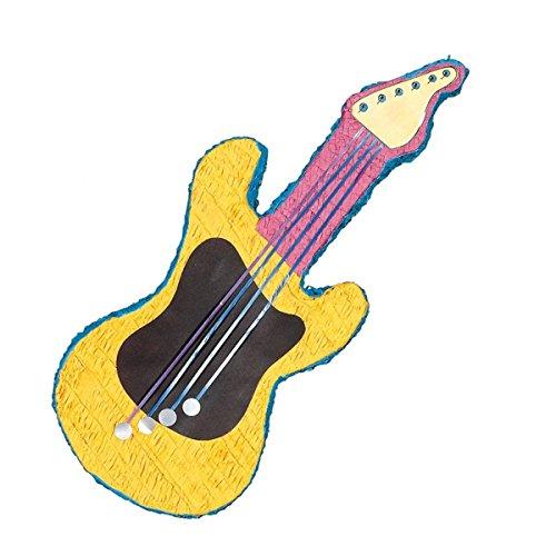 Unique Party Supplies Piñata E-Gitarre (Musik, Party Supplies)