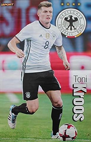 Poster Nationalspieler der Deutschen Fußball-Nationalmannschaft DIN A3 WM Weltmeister Stars Helden Deutschland Germany Fan DFB Team Foto (08. Toni Kroos)