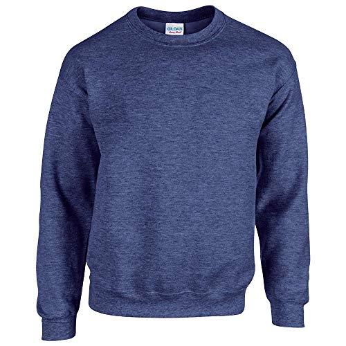 Gildan - Heavy Blend Sweatshirt - bis Gr. 5XL / Heather Sport Dark Navy, XL