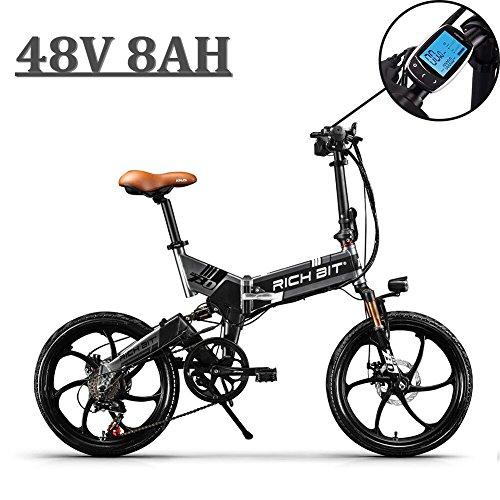 EBike_RICHBIT 730 Bicicletas Plegables Ciudad cercanías