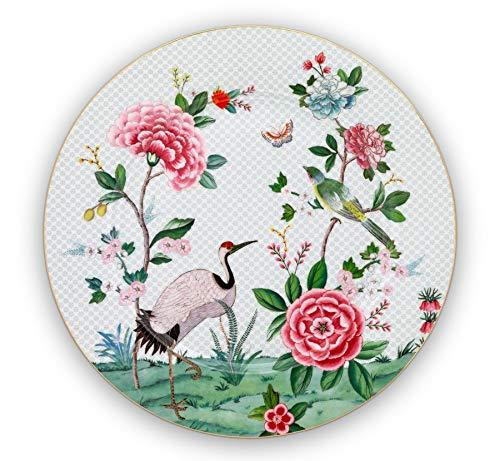 Pip Studio Platzteller Blushing Birds | weiss - 32 cm