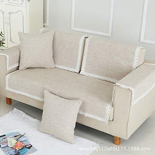 Back 2 Sitz Sofa (Baumwolle Schnitt Haustiere Sofa Cover Protector Couch,Übergroßen Keine stolperfallen Sofa Back Cover Sofa Überwürfe Abdeckungen zu werfen 2 Sitz -B 70x50cm(28x20inch))