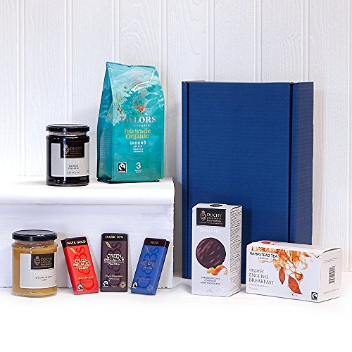 Deluxe Tea and Coffee Box Set - Ideas for Christmas presents, Birthday, Anniversary, Wedding, Business, Corporate and Congratulations Present