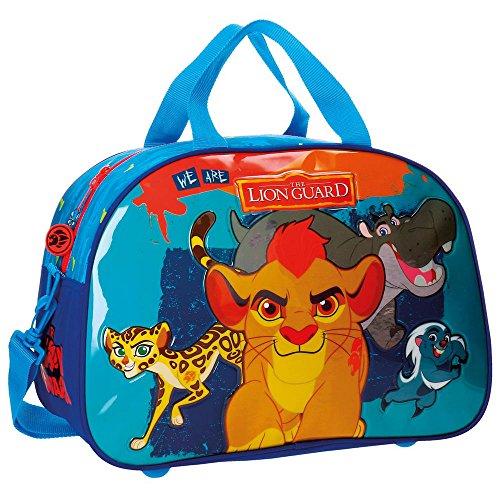 Disney Lion Guard Bolsa de Viaje, 40 cm, 24.64 Litros, Varios colores Disney