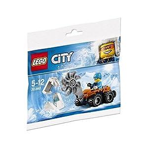 Lego City 30360 - sega ghiaccio artica 0791266103559 LEGO