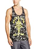 Golds Gym Herren Unterhemd Muscle Joe Premium Camo Stringer Vest
