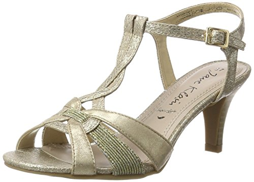 Jane Klain - 283 763, Sandali Donna Oro (gold)