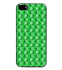 HiFi High Glossy Designer Phone Back Case Cover Apple iPhone 4 ( Badminton and Tennis Pattern Design Print )