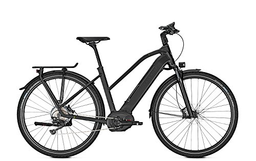 Kalkhoff E-Bike Endeavour 5.B Excite Trapez 11G 13,4 Ah 28' Freilauf red, Rahmenhöhen:53, Farben:Magicblack matt