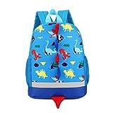 Uworth Kinderrucksack Klein Kleinkind Junge Kindergarten Rucksack Dinosaurier Blau
