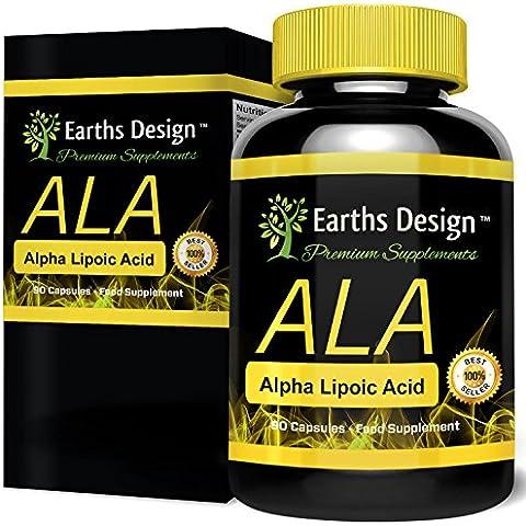 Acido Alfa Lipoico, Potente antiossidante, distrugge i radicali liberi, incrementa l'assorbimento muscolare di glucosio e creatina, aumenta il tono muscolare, brucia i grassi. 90 capsule da 250 mg.