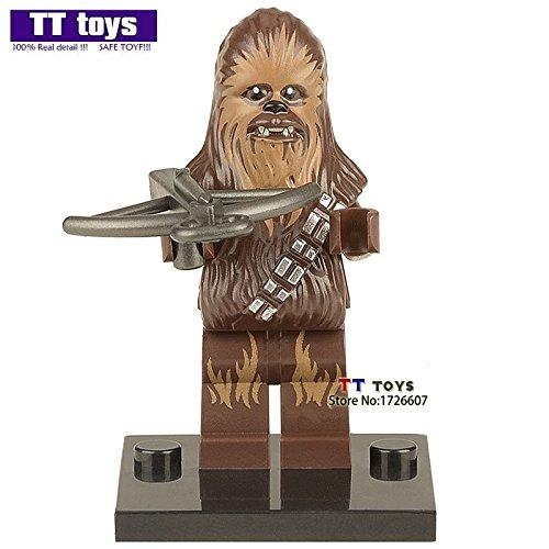 scorecor (TM) # 267único Venta Chewbacca El Despertar de la Fuerza del Ejército de la Primera Orden Minifiguras películas bloque de construcción mejor juguete de regalo de los niños