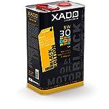 XADO Motoröl 5W30 Premium High Performance SM/CF synthetisch Motor-Öl-Additiv Paket für Hochleistungsmotoren Motorschutz der Extraklasse - LX AMC Black Edition 5W 30 SM/CF - 4 Liter Motorenöl